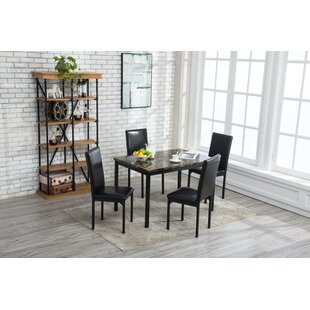 Andreana Dining Set by Red Barrel Studio Discount