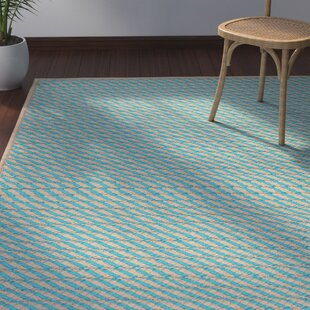 Mammari Hand-Woven Blue Indoor/Outdoor Area Rug By Bay Isle Home