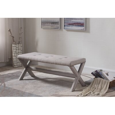 Charlton Home Vanslyke Upholstered Bedroom Bench | Wayfair