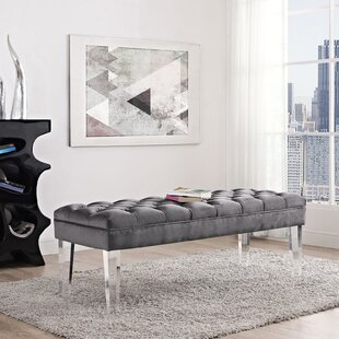 Mercer41 Celestia Upholstered Bench