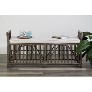 Anabella Wood Bench by Highland Dunes