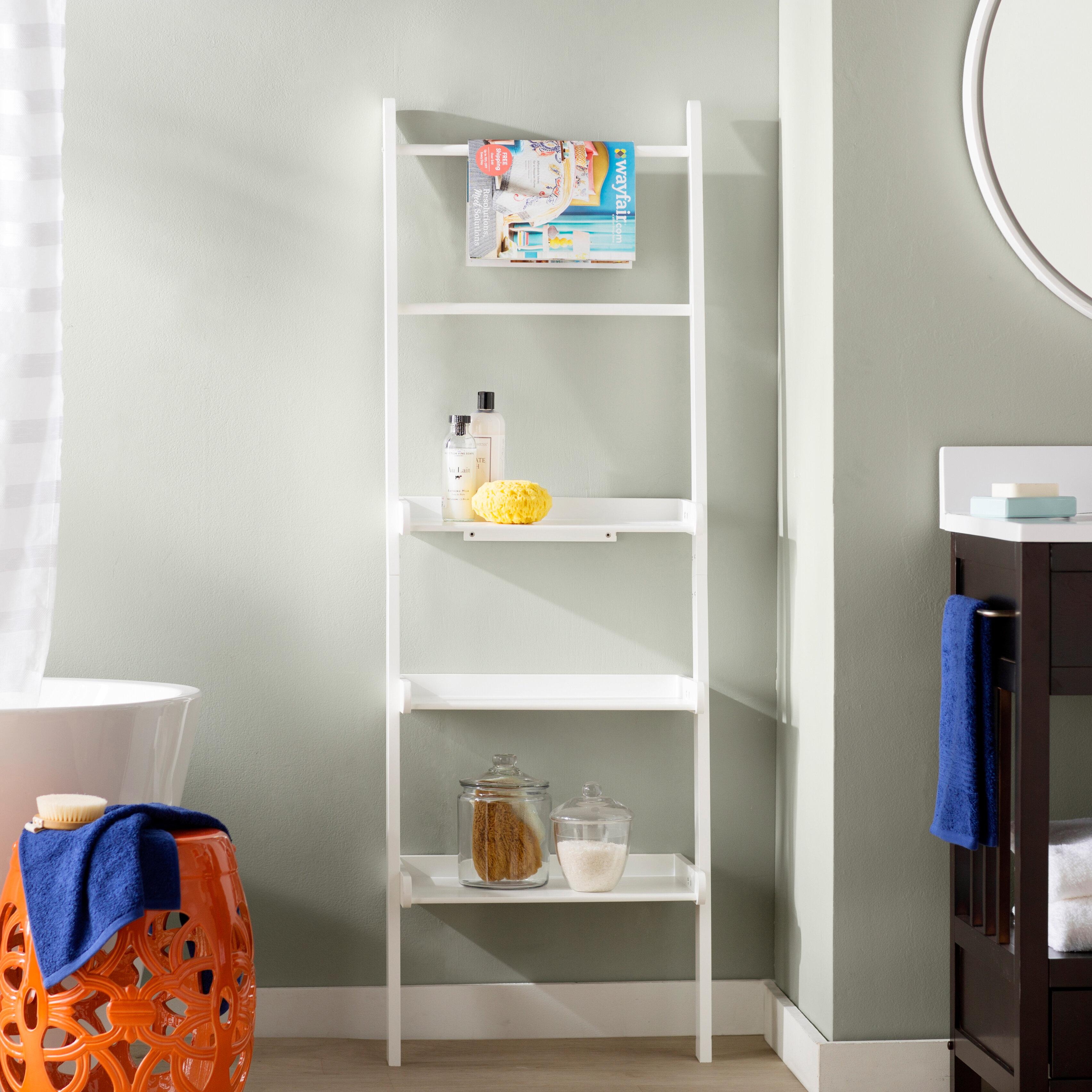 wayfair shelf bliss bathroom organization laura h x ashley pdx w bath reviews storage