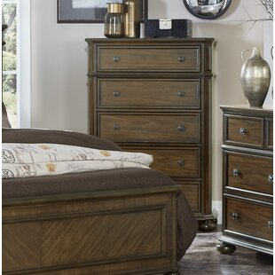 Millwood Pines Malik 5 Drawer Chest
