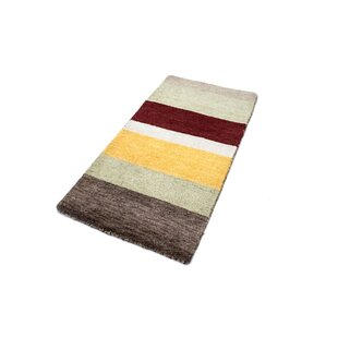 Sato Hand Hooked Wool Grey Indoor/Outdoor Rug By Brayden Studio