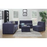 Hallatrow 136 Reversible Modular Sectional with Ottoman by Alcott Hill®