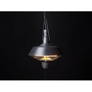 Review Amiata Ceiling Mounted Electric Patio Heater