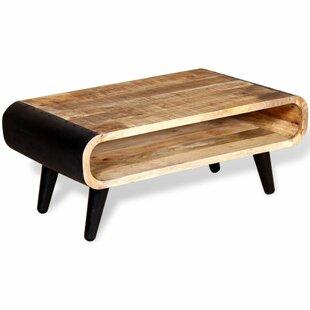 Gearldine Rough Mango Wood Coffee Table By Brayden Studio