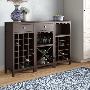 Alcott Hill Ancona 44 Bottle Wine Cabinet