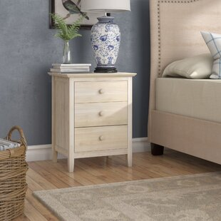 Alcott Hill Sommerville 3 Drawer Nightstand