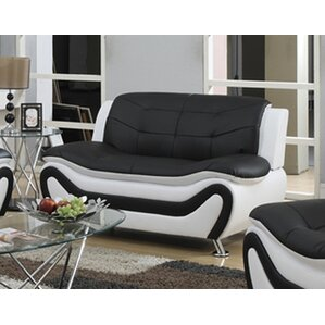 Machelle Modern Living Room Loveseat by Orre..