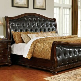 Meadowlakes Upholstered Sleigh Bed