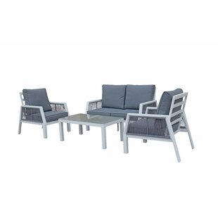 Umberto 4 Seater Sofa Set By Sol 72 Outdoor