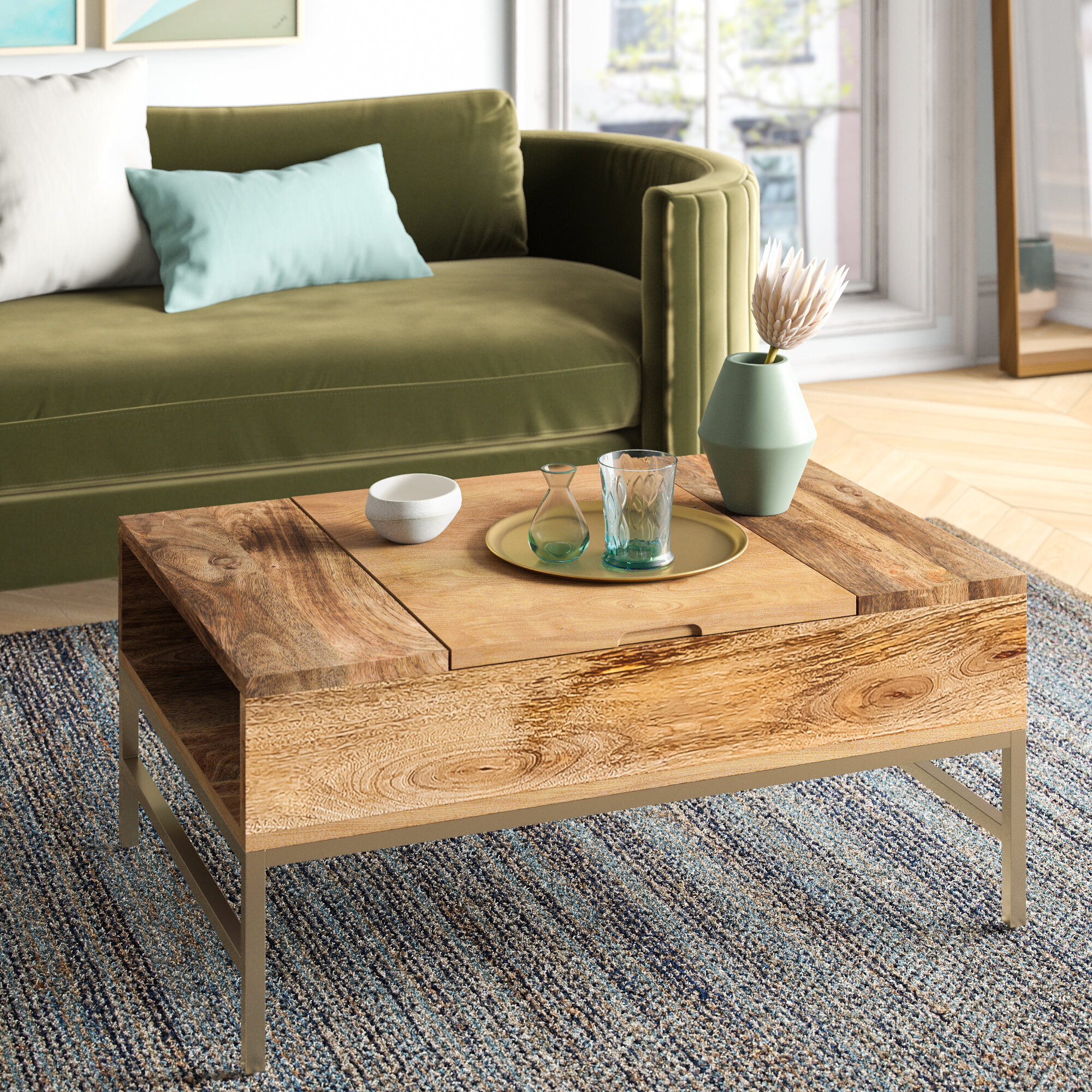 Foundstone Kassidy Lift Top Coffee Table With Storage Reviews