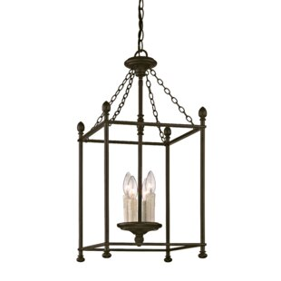 Gracie Oaks Paulsboro 4-Light Foyer Pendant