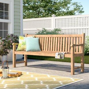 Muireann Wooden Bench By Sol 72 Outdoor