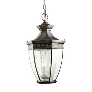 Badley 3-Light Outdoor Hanging lantern