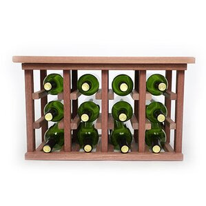 12 Bottle Floor Wine Rack by Wineracks.com