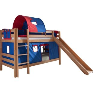 Faircloth European Single Bunk Bed With Textil Set By Zoomie Kids