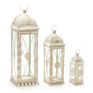 3 Piece Metal Lantern Set by Gracie Oaks