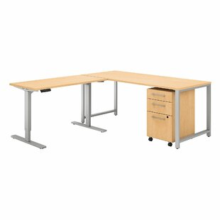 400 Series 3 Piece L-Shape Desk Office Suite by Bush Business Furniture Read Reviews
