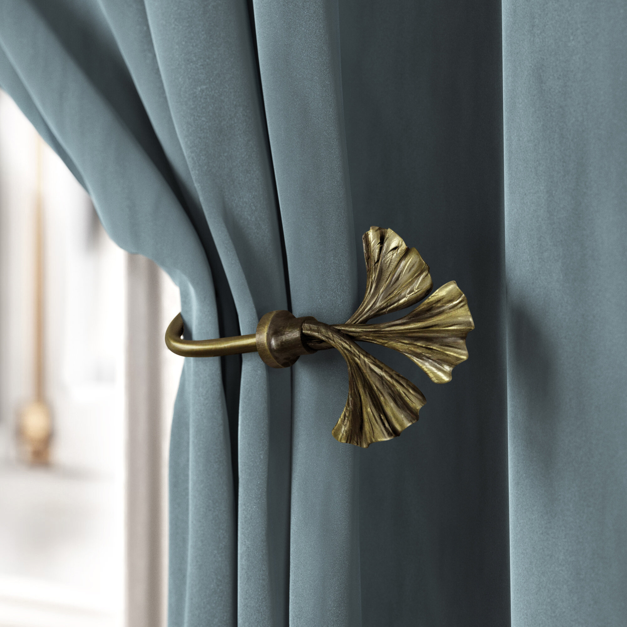 Leaf Rod Curtain Hardware Accessories You Ll Love In 2021 Wayfair