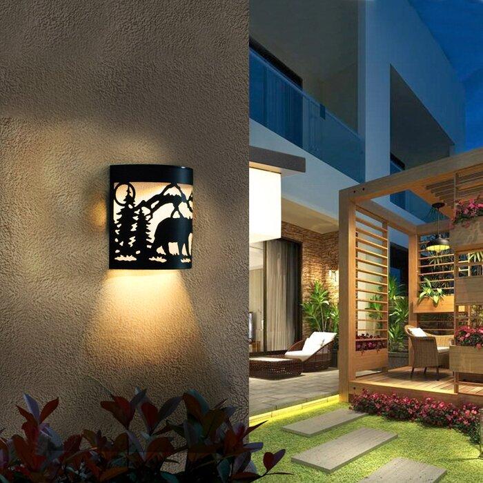 Garden Yard Solar Powered Deck Light Pack