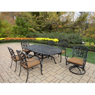 Darby Home Co Bosch 7 Piece Dining Set wi..