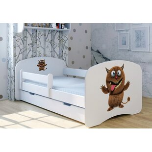 Lumpi Bed With Mattress And Drawer By Zoomie Kids