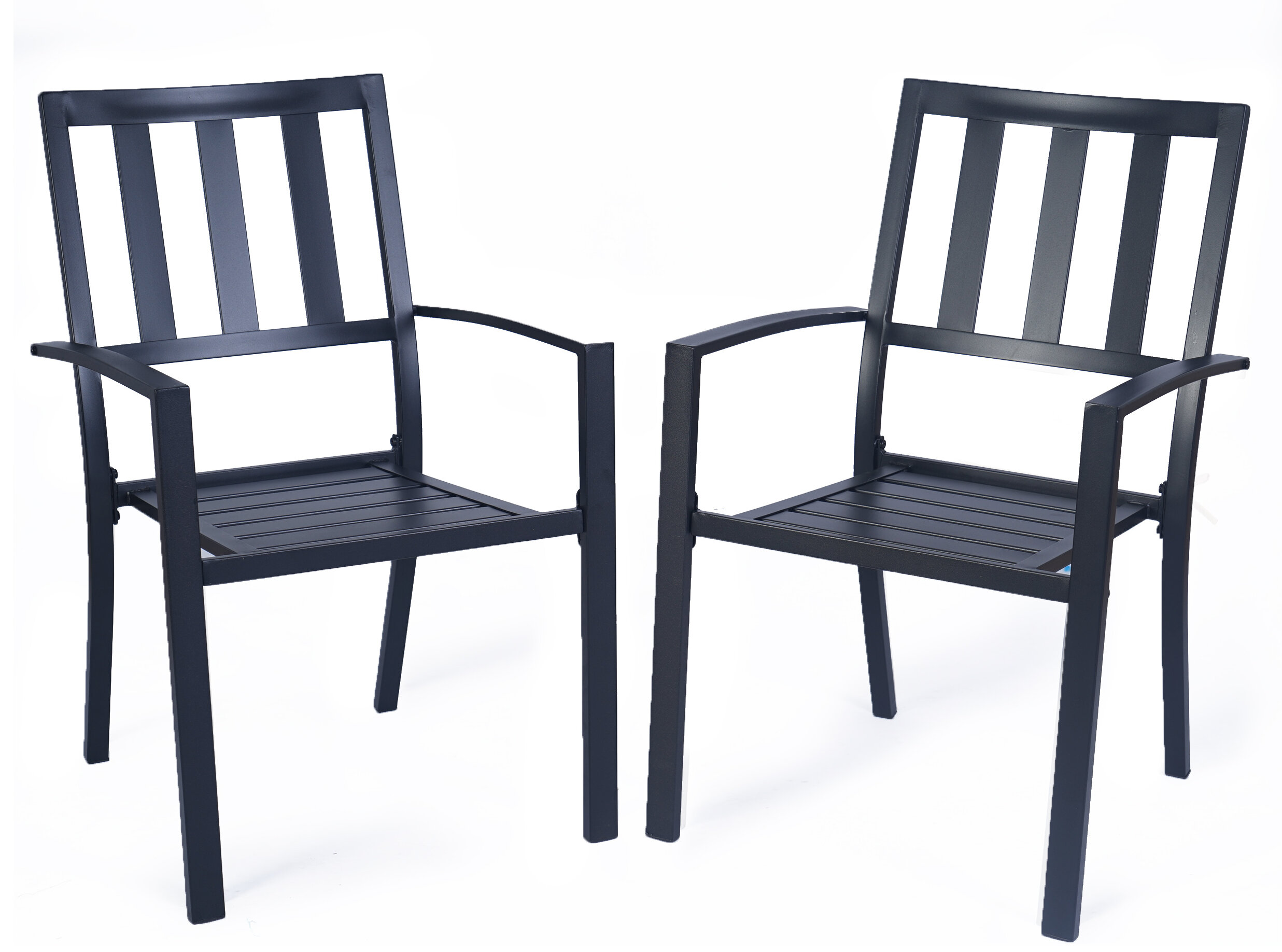Metal 17 Stories Patio Dining Chairs You Ll Love In 2021 Wayfair