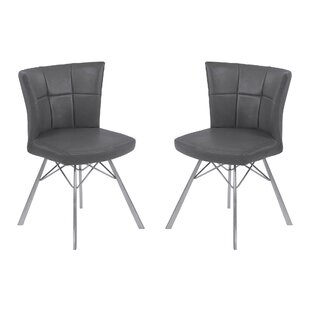 Lyle Contemporary Upholstered Dining Chair (Set of 2) by 17 Stories