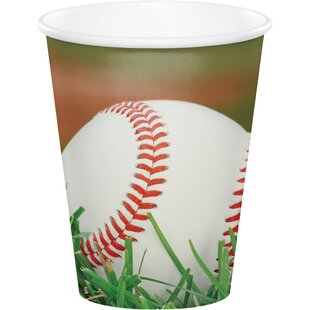 Baseball Paper Disposable Cup (Set of 24)