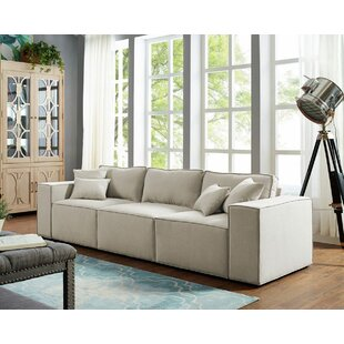 Burgan Modular Sofa by Williston Forge Best #1