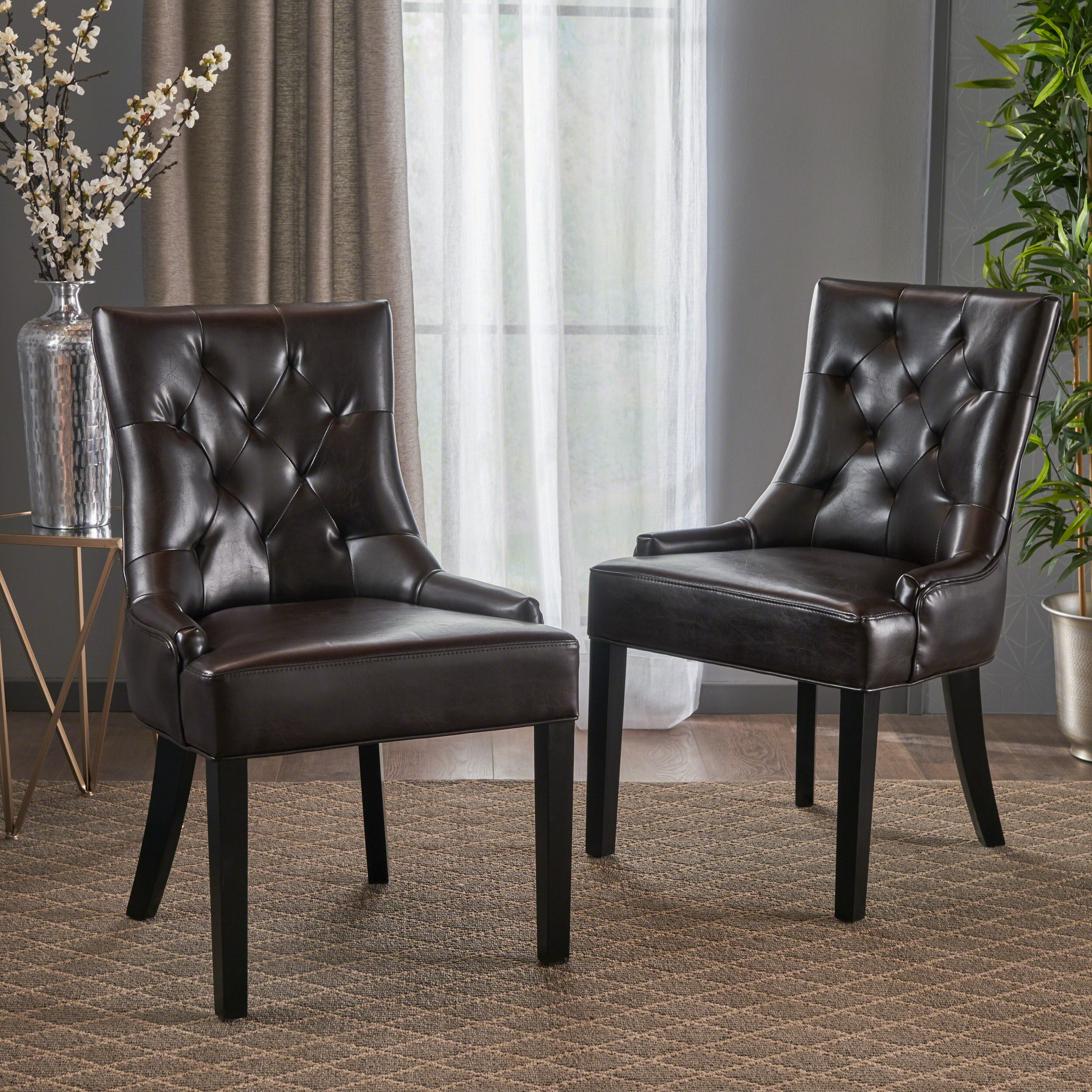 Grandview Tufted Upholstered Side Chair