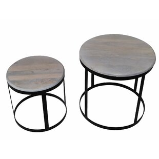 Hope 2 Piece Nesting Tables by Williston Forge #2