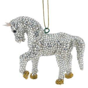 Handmade Horse Christmas Ornament (Set of 2) (Set of 2)