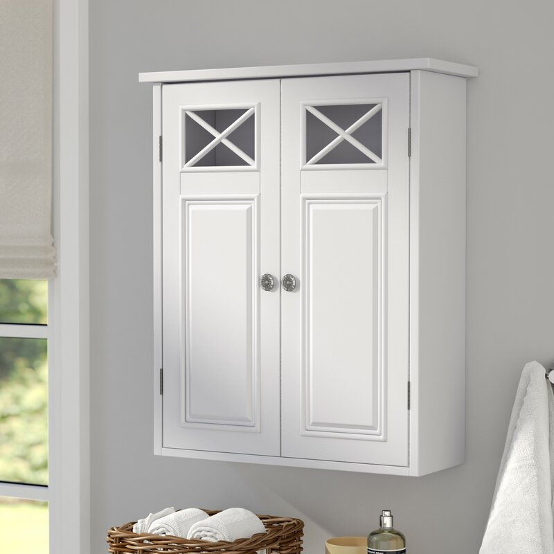 Rosecliff Heights Roberts 20 W X 24 H X 7 D Wall Mounted Bathroom Cabinet Reviews Wayfair