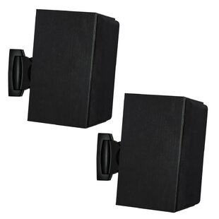 Heavy Duty Universal Adjustable Design Wall Speaker Mount (Set of 2)