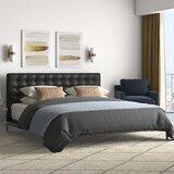Upholstered Platform Bed by Nuevo