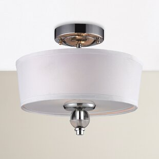 Fauntleroy 2-Light Semi Flush Mount by Darby Home Co