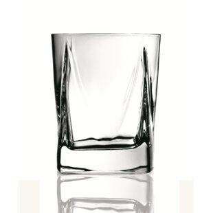 Cut Crystal 9oz Whisky Glass With Cyclist Design