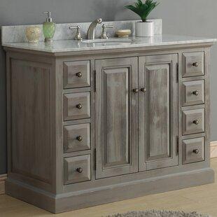 Buy clear 49 Single Bathroom Vanity Set ByInFurniture