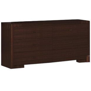 Hibbler 6 Drawer Double Dresser
