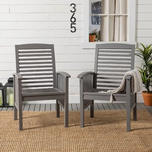 Tim Garden Chair (Set Of 2) By Longshore Tides