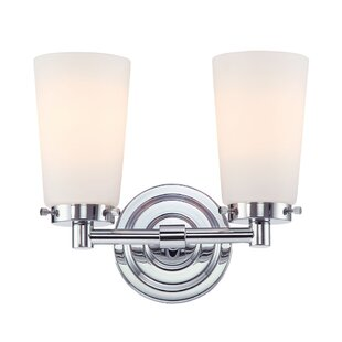 Crumpton 2-Light Vanity Light by Winston Porter