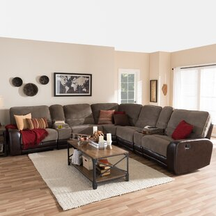 Inexpensive Carnegie Reclining Sectional by Red Barrel Studio Reviews (2019) & Buyer's Guide