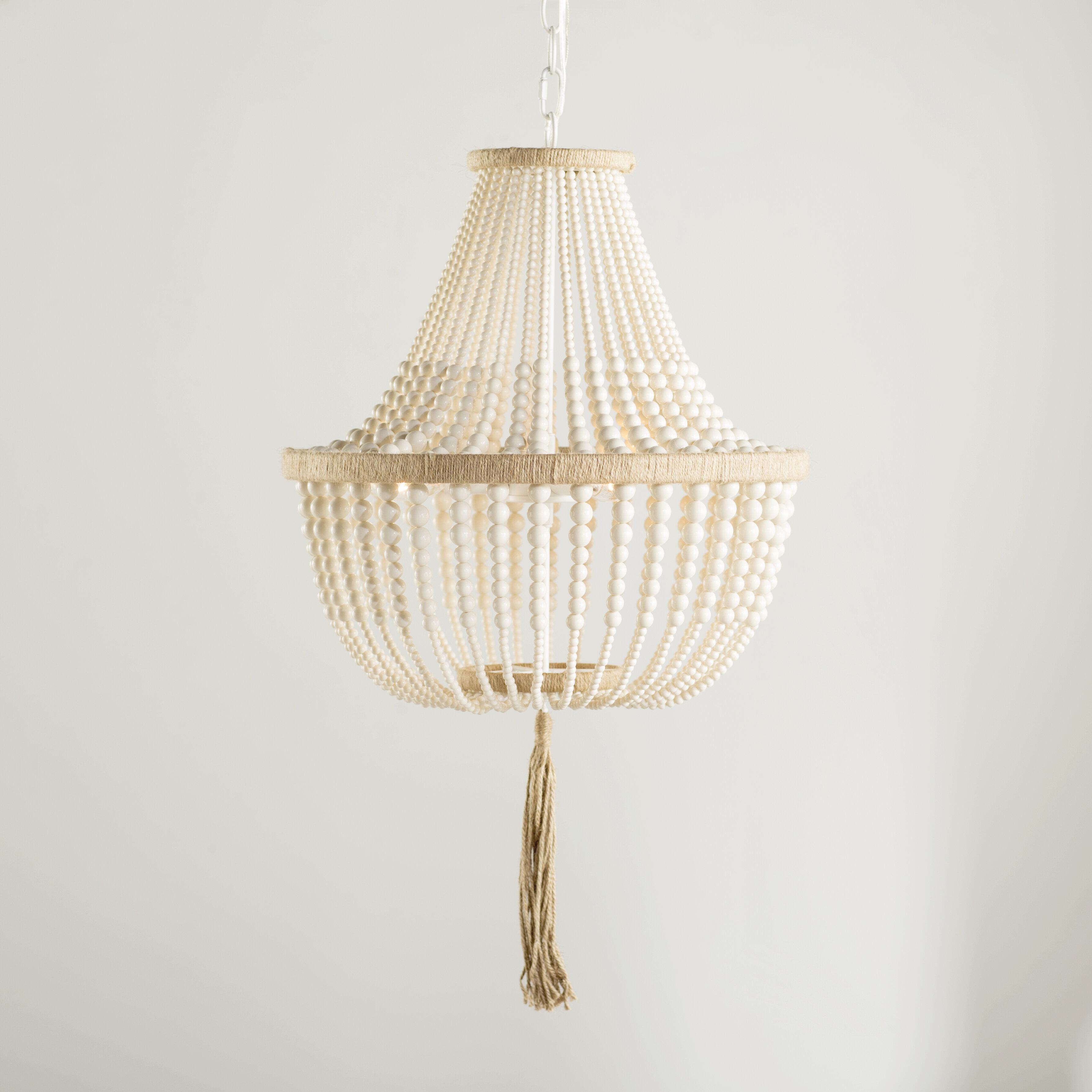 Lyon 3 light empire chandelier