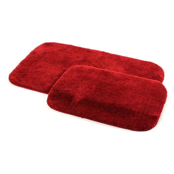 Stanley Red Bath Rug Set