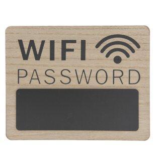 WiFi Password Memo Board By Symple Stuff