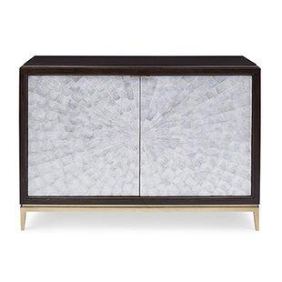 Ambella Home Collection Capiz 2 Door Accent Cabinet