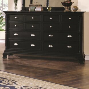 Ardnaglass 12 Drawer Double Dresser by Canora Grey